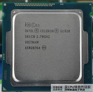 Celeron G1820 Socket 1150 2,7ghz Novinho Com Cooler Usado