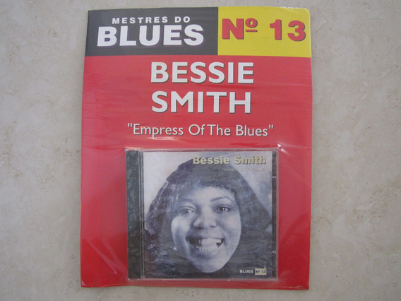 Cd Com Revista Mestres Do Blues Bessie Smith Lacrado