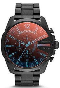 Relógio Diesel Dz4318 (masculino) Mega Chief | Preto