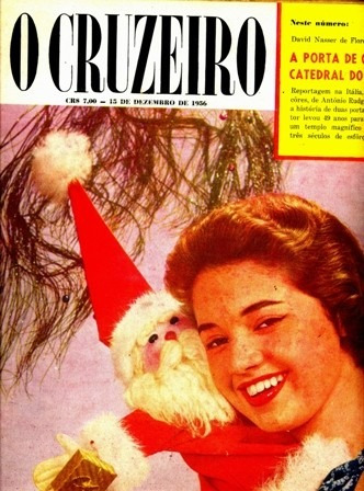 Revista O Cruzeiro 9 - 1956 - Ótimo Estado