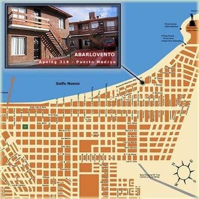 Departamentos En Alquiler A 50 Mts Del Mar En Puerto Madryn.