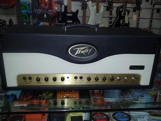 Amplificador Cabeçote Guitarra Valvulado Peavey Windsor 120w