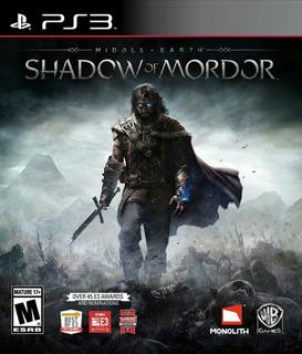 Shadow Of Mordor Legion Edition Ps3