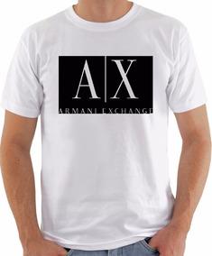 Camiseta Personalizada Armani Exchange Frete Grátis