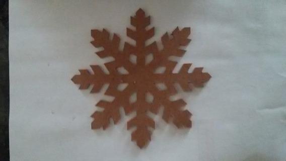 Kit 100 Flocos De Neve Mdf Frozen Gelinho Decoração Festa