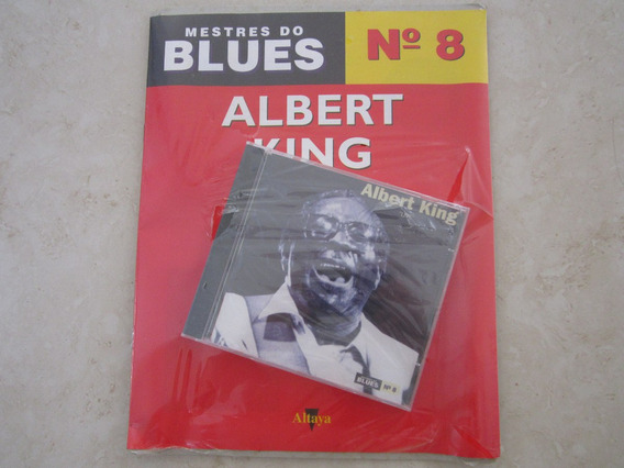 Cd Com Revista Mestres Do Blues Albert King Lacrado