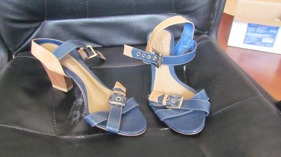 Sandália Azul No 36