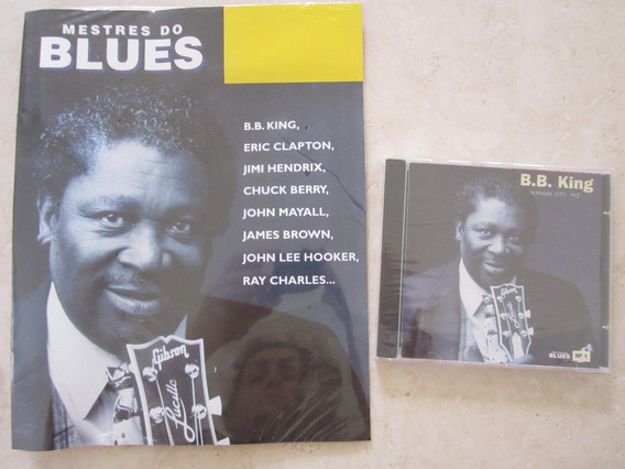Cd Com Revista Mestres Do Blues B. B. King Lacrado