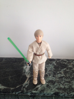 Star Wars Luke Skywalker Original Con Espada Impecable