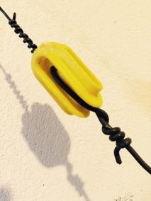 Isolador Nylon Antena Dipolo Rádio Px Py Uhf Hf Ssb