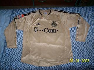 Camisa Bayern Munique Alemanha adidas #12 Sepp 2004 05 Rara