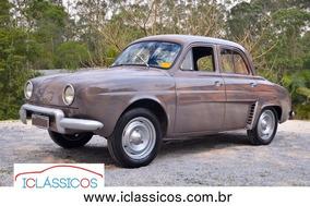 Renault Gordini Teimoso 1966 Placa Preta N Fusca N Dkw