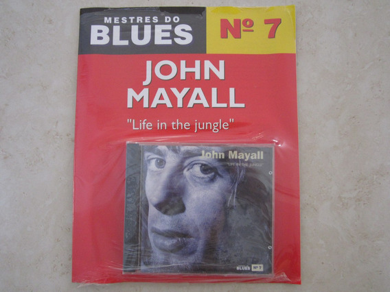 Cd Com Revista Mestres Do Blues John Mayall Lacrado
