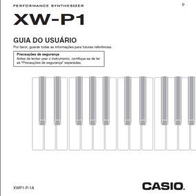 Manual Casio Xw P1 Em Português