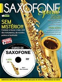 Método Saxofone Primeira Edição Dvd + Revista