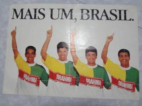 Poster Antigo Da Brahma