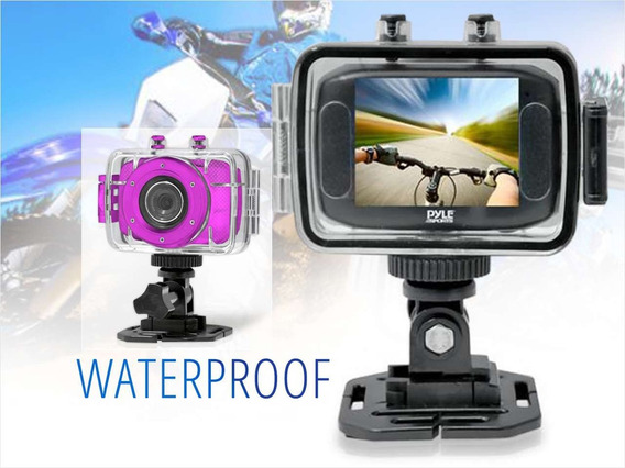 Câmera Action 720p Tipo Gopro Esportes Água - Frete Grátis