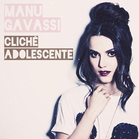 Cd Manu Gavassi Clichê Adolescente - Novo Original