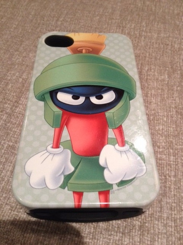 Carcasa  iPhone  S4   Looney Tunes (usada)  Perfecto Estado