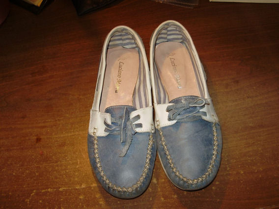 Mocasines Mujer Luciano Marra Talle 38