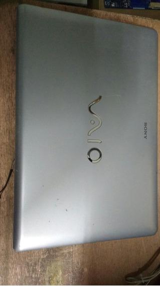 Tampa Da Tela C Antenas Notebook Sony Pcg-61611 X Original