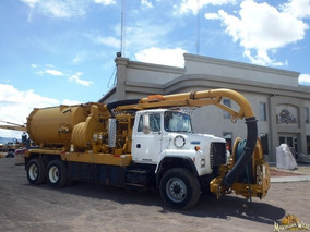 Camion Vactor Limpia Drenajes Para Desazolve Ford L800 9068