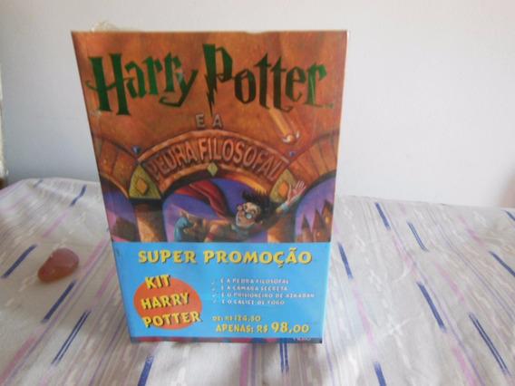 4 Livros Da Saga Harry Potter.