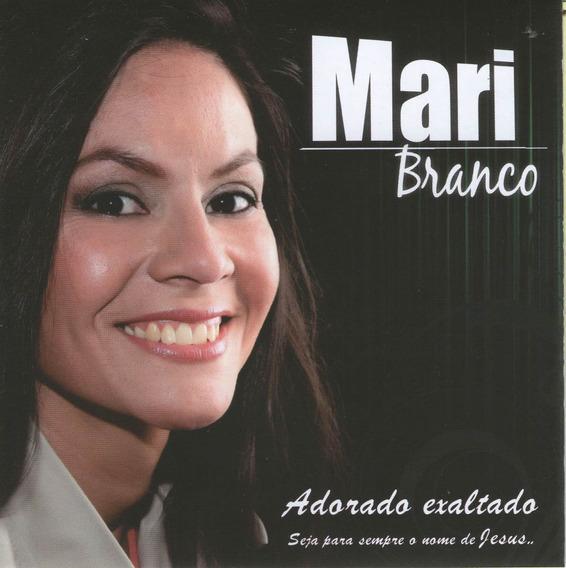 Mari Branco- Adorado Exaltado- Cd Original Da Música Gospel