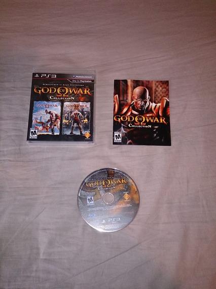 God Of War Collection 1 E 2 Original Ps3