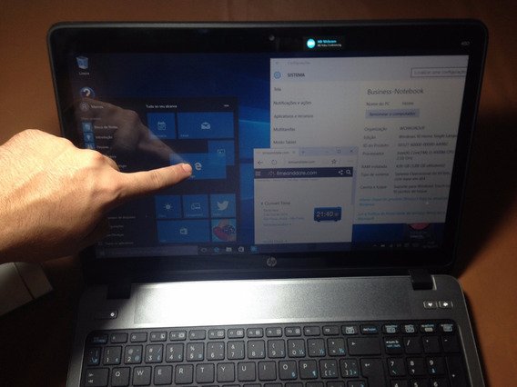 Notebook Hp Win10 Telatouch I3-4100m 4gb 500gb Hdmi Wifi/3g