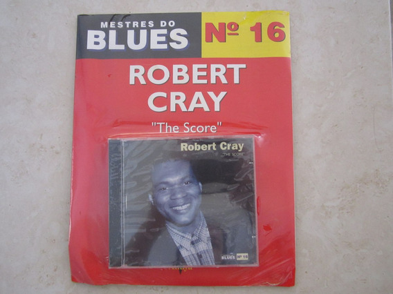 Cd Com Revista Mestres Do Blues Robert Cray Lacrado