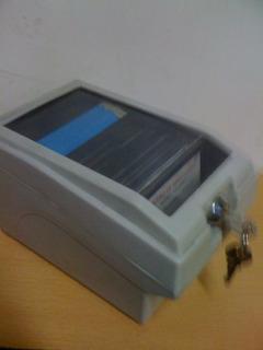 Caja Portadiskettes 3.5 - C/40 Diskettes
