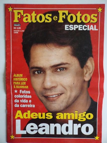 Revista Fatos E Fotos Especial Leandro