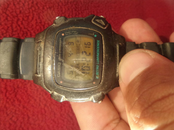 Sucata Relógio Casio W-740 - Maquina Do Tempo