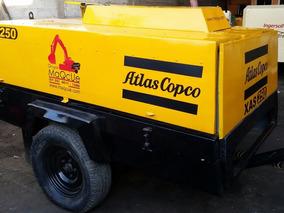 Compresor Atlascopco 250pcm Motor Deutz Listo Para Trabajar