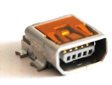 Conector Molex 538-56579-0576 Usb Mini Ab