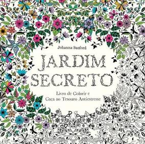 Jardim Secreto Livro Johanna Basford Frete 12 Reais