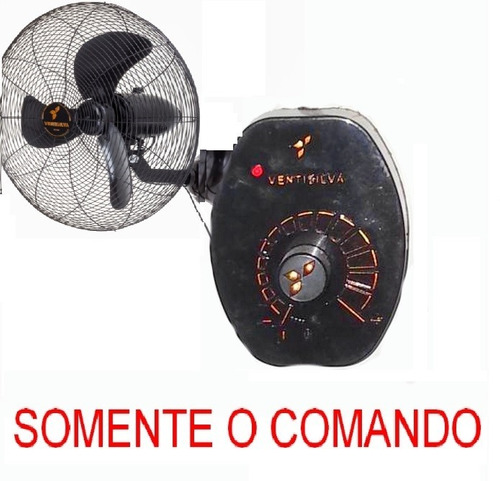 Imagem 1 de 3 de Controle Velocidade Comando Ventilador Ventisilva