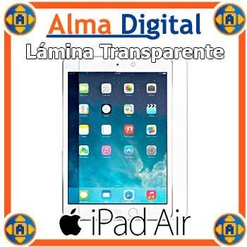 Lamina Protector Pantalla iPad Air Transparente