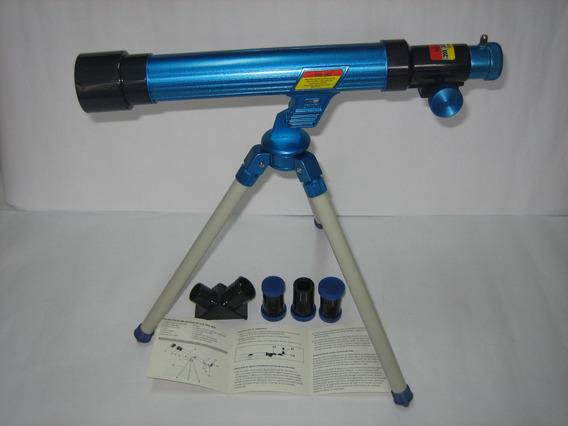 Telescópio Astronômico 30mm - Potência 20/30/40x - Candide