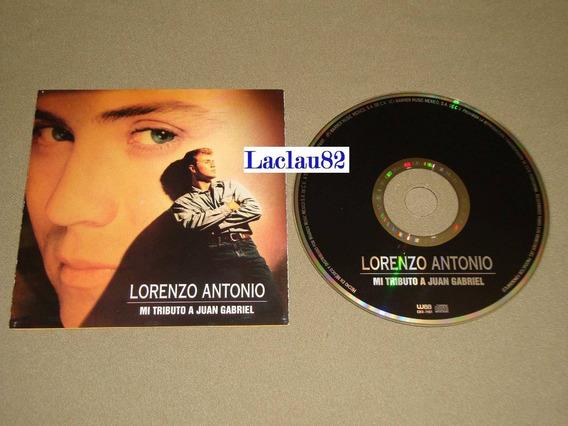 Lorenzo Antonio Mi Tributo A Juan Gabriel 1993 Wea Cd