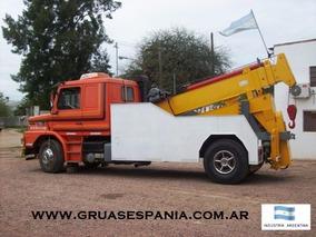 Grúa De Auxilio Pesado /grúa Para Camiones /fca. De Grúas