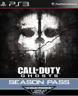 Call Of Duty Ghosts Season Pass Ps3 Usa Gcp