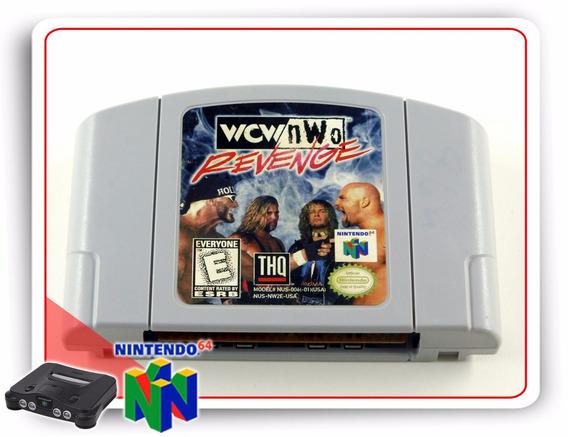 Wcw Nwo Revenge Nintendo 64 Original