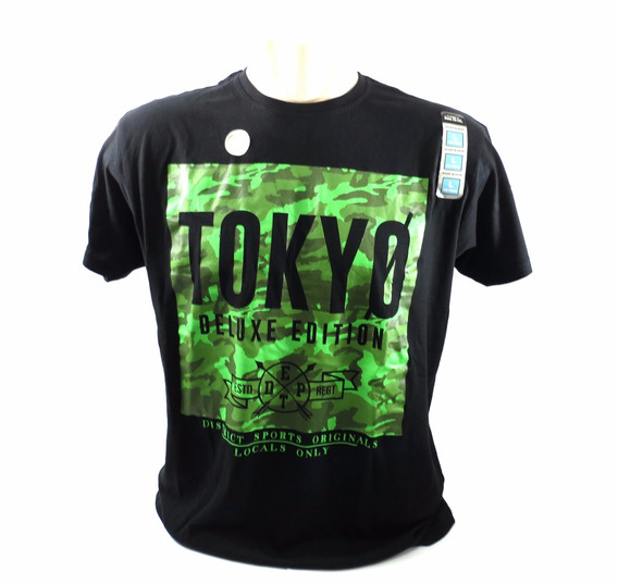 Camisa Cedarwood State Tokyo Preta Tam G