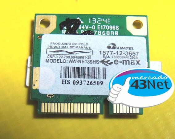 Placa De Rede Whireless Emax Aw-ne139hs Wifi Para Notebooks