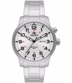 Relógio Orient Masculino Automático 469ss060 S2sx Prata