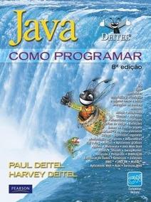 Livro Java Como Programar 8ª Edição - Digital Deitel