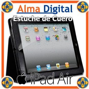 Estuche Cuero Apple iPad 5 Air Forro Protector Tipo Agenda