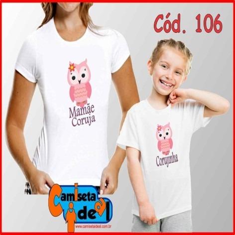 Kit C/ 2 Camisetas (adulto + Infantil) - Tal Mâe / Tal Filha